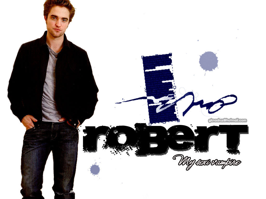robert pattinson - Edward Cullen