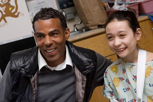 Ellen and Chris in Boston Childrens Hospital