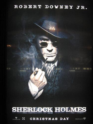 'Sherlock Holmes' Movie Poster