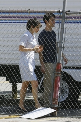 500 Days of Summer (on the set)