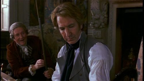 Alan Rickman karatasi la kupamba ukuta possibly containing a business suit called Alan in 'Sense and Sensibility'