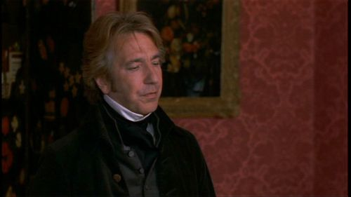 Alan Rickman karatasi la kupamba ukuta entitled Alan in 'Sense and Sensibility'