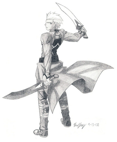 Archer looks so cool