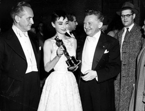 Audrey at the Oscars