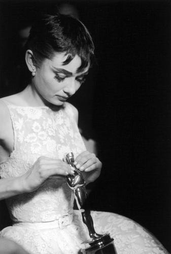 Audrey at the Oscars