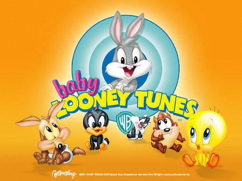 Looney Tunes achtergrond titled Baby Looney Tunes achtergrond