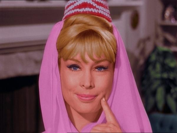 Barbara Eden como Jeannie - i-sonho-de-jeannie foto