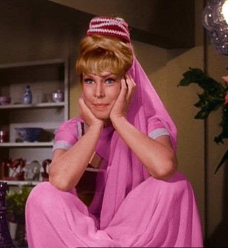 Eden as jeannie Barbara