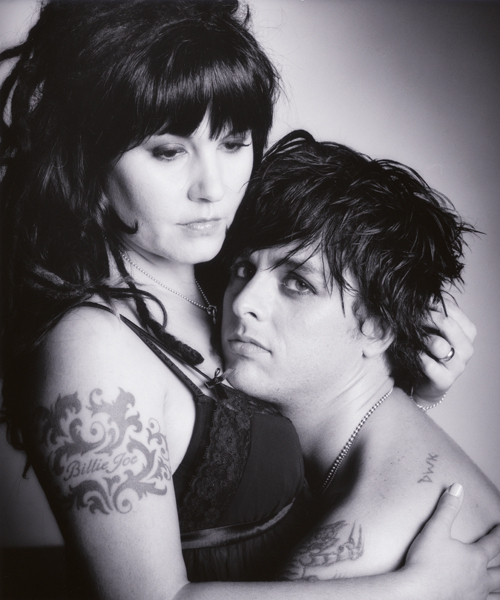 Billie Joe and Adrienne - green-day photo
