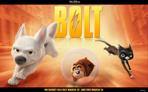Disney's Bolt wallpaper called Bolt Trio