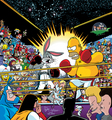 Bugs vs Homer - looney-tunes photo