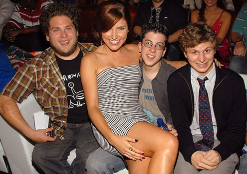 CMP with Sophia Bush, Michael Cera & Jonah hügel @ Teen Choice Awards