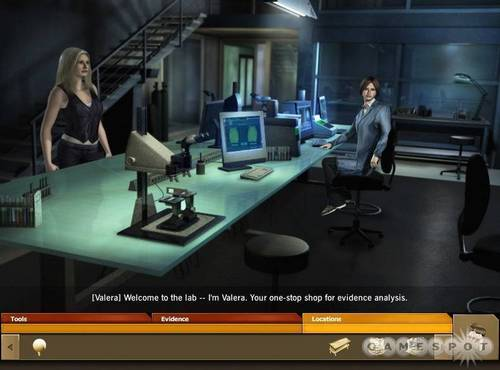 CSI: Miami wallpaper possibly with a living room and a drafting table called CSI Miami Game > Calleigh and Valera
