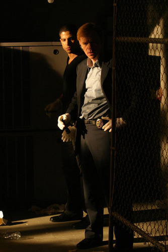 Caine and Delko - csi-miami Photo