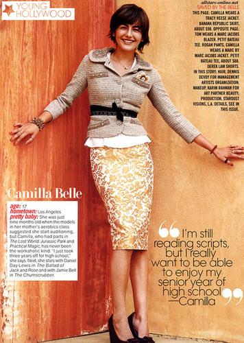 Camilla in Teen Vogue (October 2004)