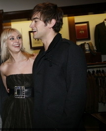 Chace & Taylor in a navidad Party
