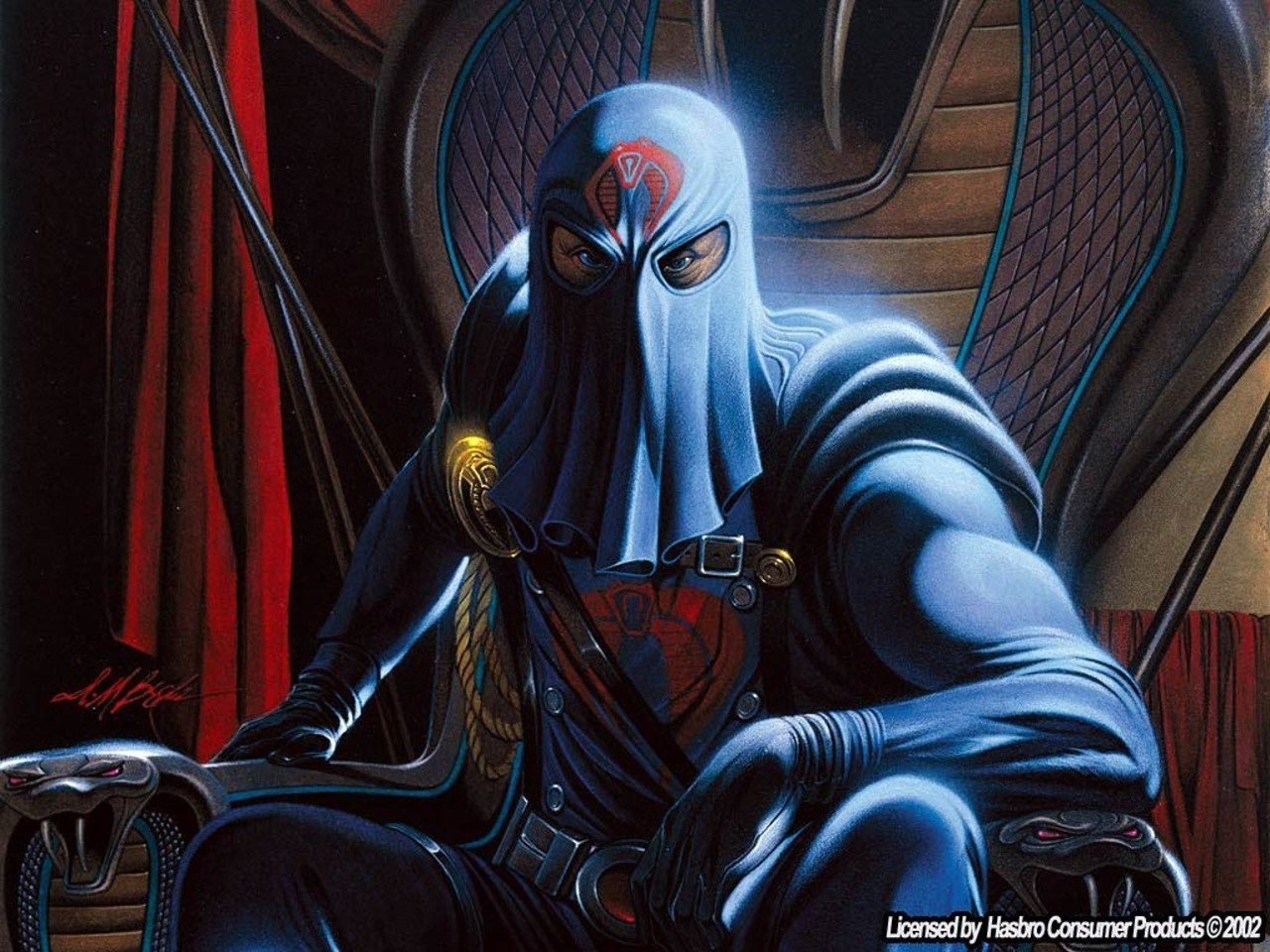 Cobra Commander - gi-joe Gi Joe Cobra Wallpaper