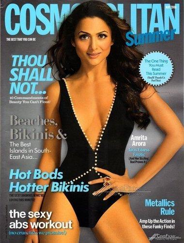 Cosmopolitan cover May 2008