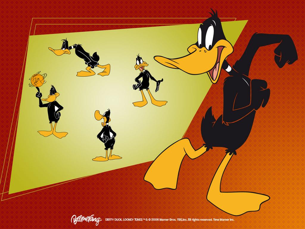 Daffy itik kertas dinding