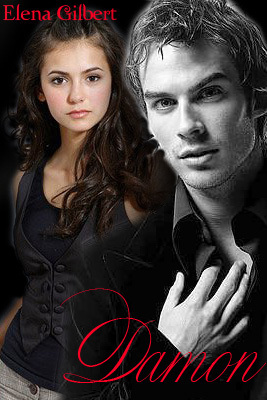 Damon Salvatore and Elena Gilbert
