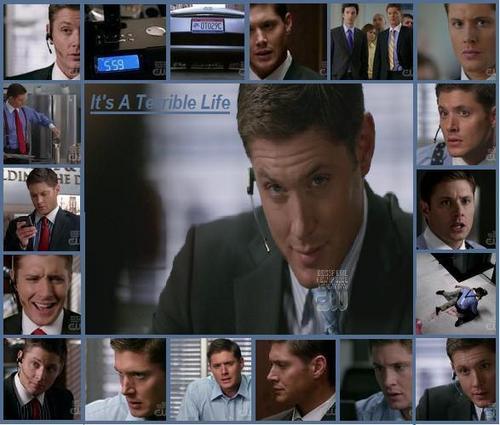 Supernatural Images Dean It's A Terrible Life Wallpaper