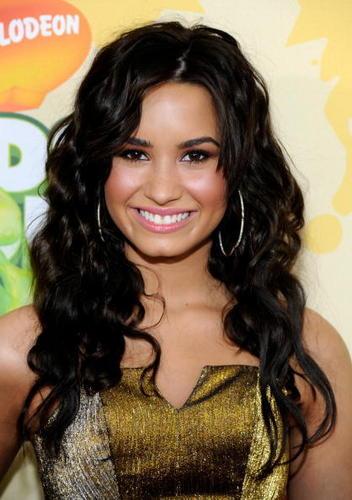 Demi at the 2009 Kids' Choice Awards