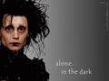 alone... in the dark - edward-scissorhands wallpaper