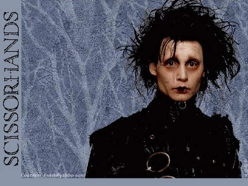 Edward Scissorhands wallpaper probably containing a portrait titled Scissorhands