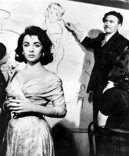 elizabeth taylor wallpaper possibly with a koktil, koktail dress, a well dressed person, and a business suit titled Elizabeth Taylor