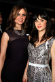 Emily and Zooey @ Vanity Fair Oscar Party