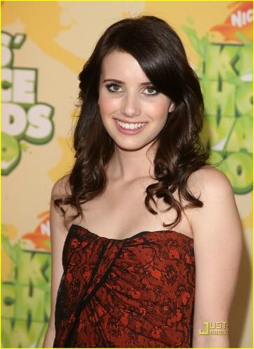 Emma @ 2009 Kids Choice Awards