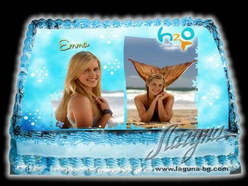 Emma birtday cake - h2o-just-add-water Fan Art