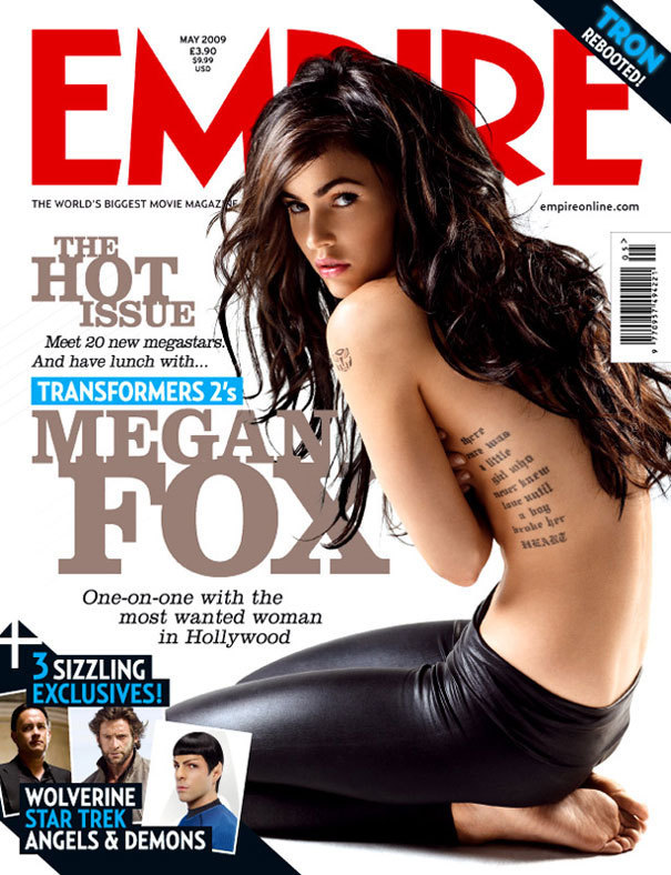 Megan Fox Magazine Photos. Empire Magazine - May 2009