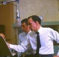 Frank Sinatra and Dean Martin Recording