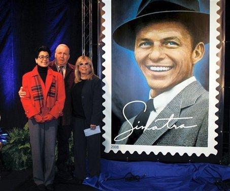 Frank Sinatra's Children at Stamp Presentation