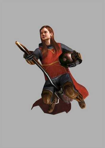 HBP Video Game - Promotional - Ginny Playing Quidditch