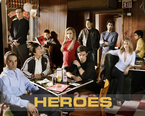Heroes wallpaper probably with a brasserie, a drawing room, and a reading room titled Heroes