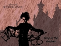 living in the shadows - edward-scissorhands wallpaper