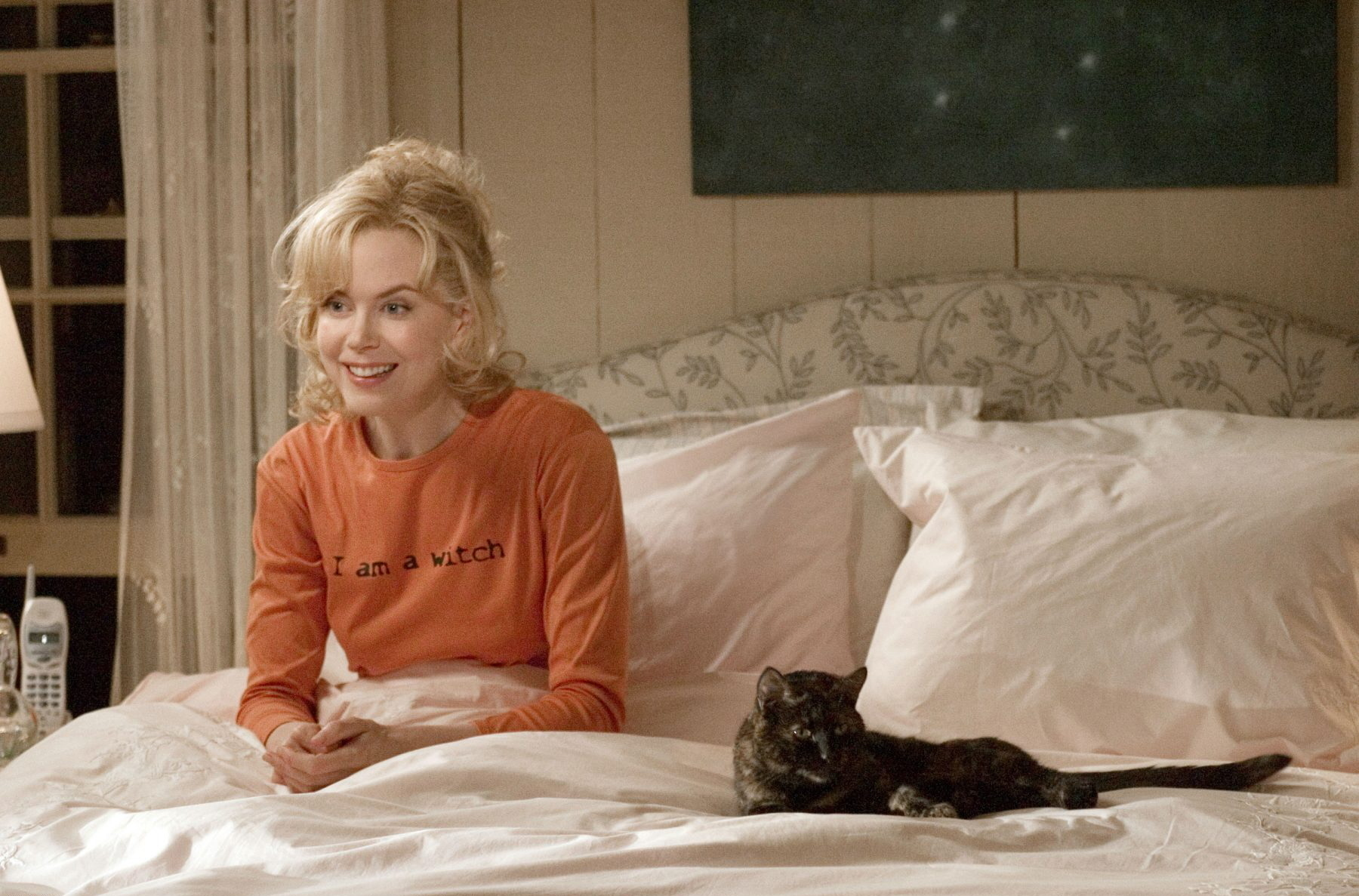 Cat From Bewitched Black
