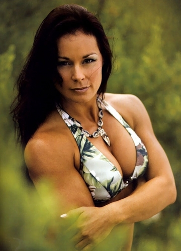 Wwe Former Diva Ivory achtergrond probably with a bikini entitled Ivory