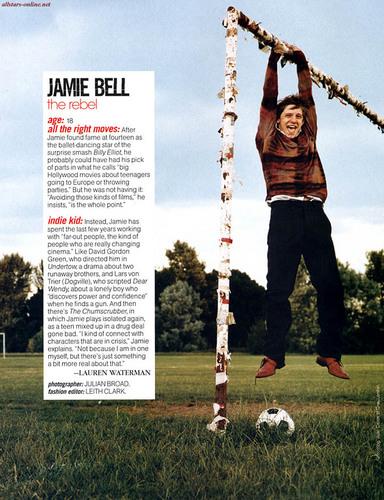Jamie in Teen Vogue (October 2004)