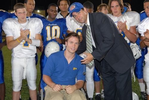 Friday Night Lights achtergrond called Jason & Coach Taylor