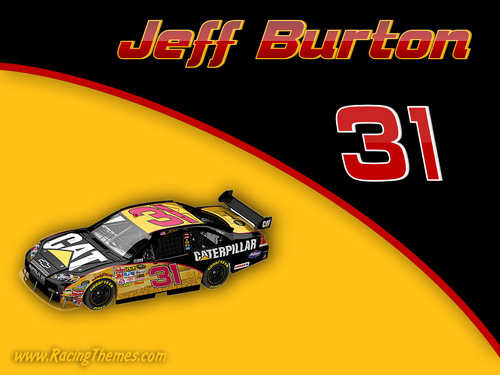 Jeff Burton 2009 - nascar Wallpaper