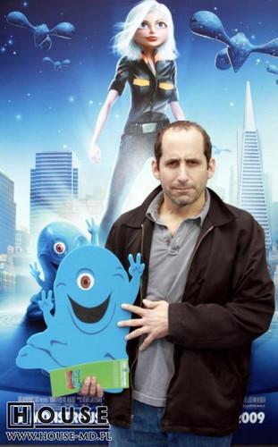 Jesse Spencer & Peter Jacobson: Monsters vs Aliens Premiere