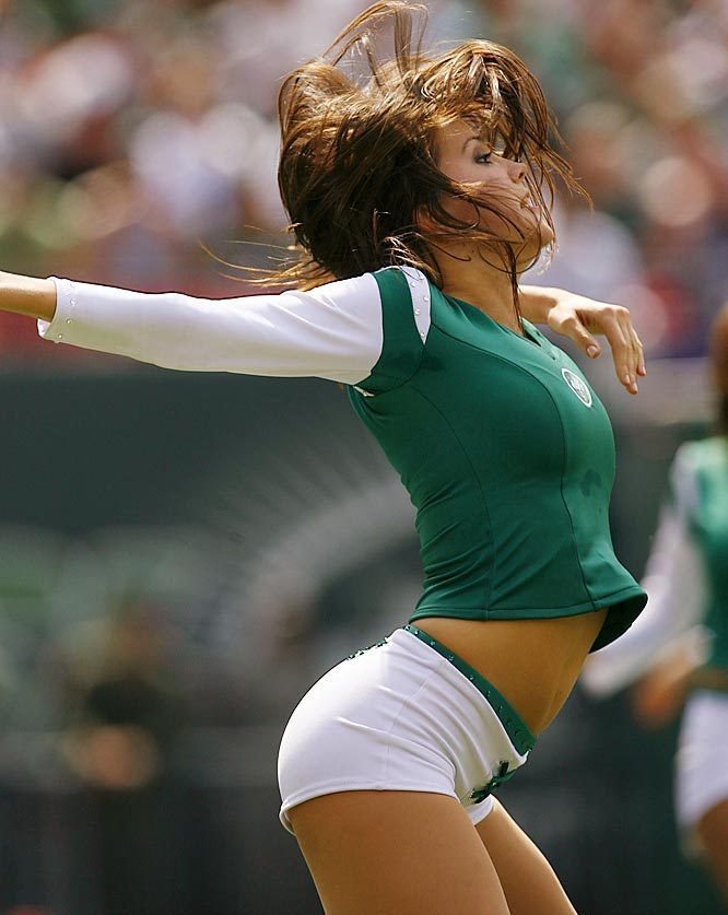 NFL Cheerleaders Jets pop