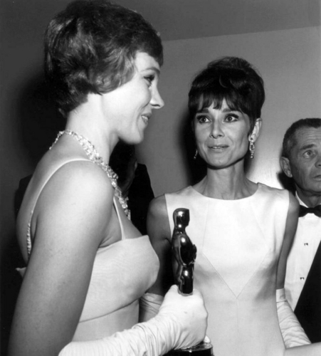 Julie and Audrey Hepburn
