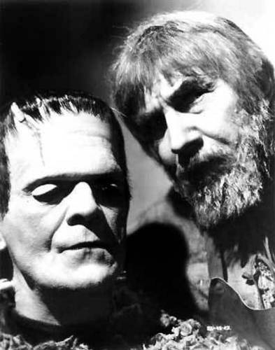 Karloff and Lugosi