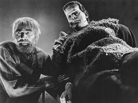 Karloff and Lugosi