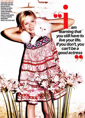 Kristen on Teen Vogue (October 2004)