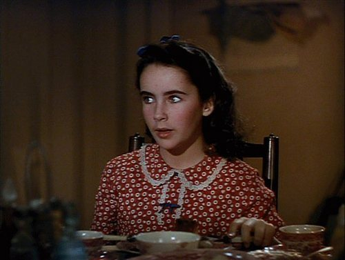 elizabeth taylor wallpaper probably containing a jantar and a brasserie entitled Liz in 'National Velvet'